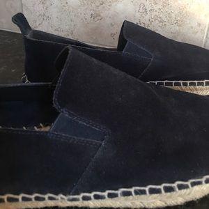 Vince Shoes - 🚫SOLD🚫 Vince navy suede espadrilles